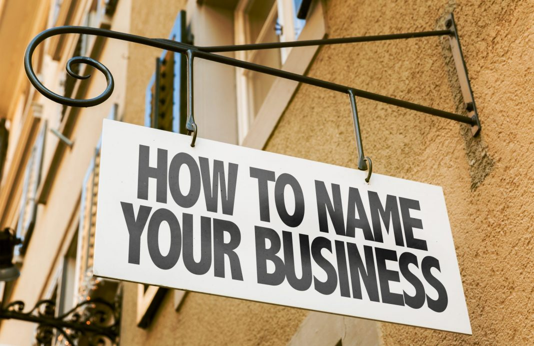 how to find a good name for your company