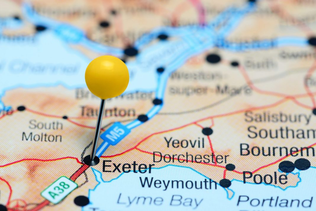 Map Of Uk Exeter.Exeter Student Start Up Extraordinaires Cf247 Blog