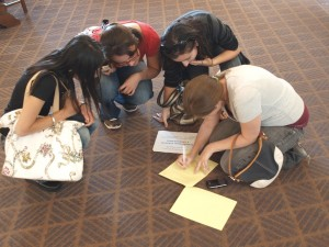 Team building by a Scavenger Hunt