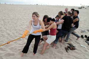 Team Building by Tug of War