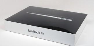 Macbook Air packaging