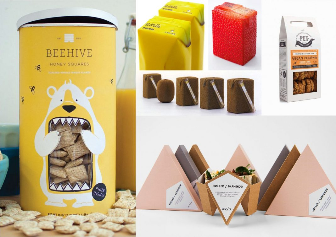 various clever food packaging