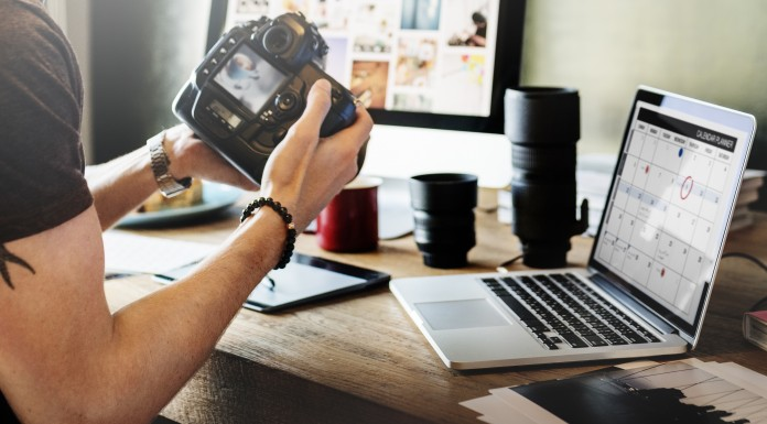 Photographer at creative agency