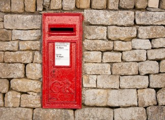 Traditional Georgian Postbox
