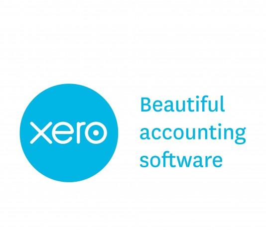 Xero app logo and tagline: beautiful accounting software