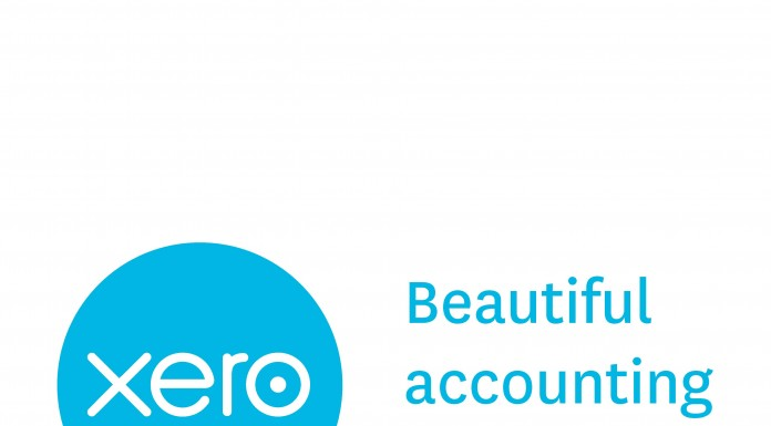 Xero app logo and tagline: beautiful accounting software
