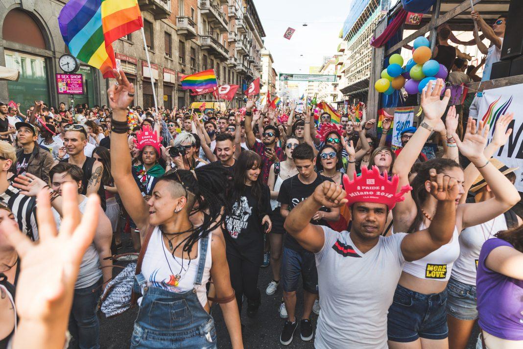 People At Pride 2016