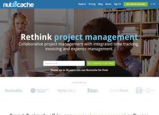 nutcache website