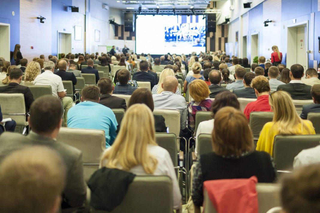 big presentation/talk