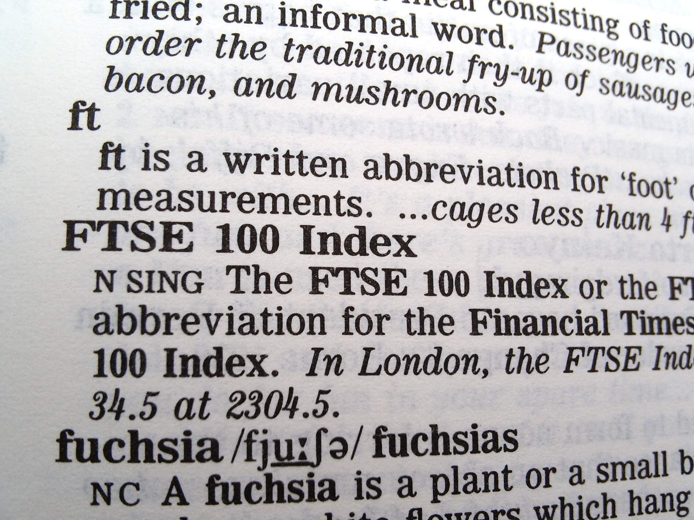 FTSE 100 Index definition