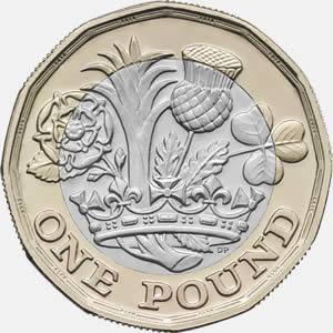 12-sided £1 coin