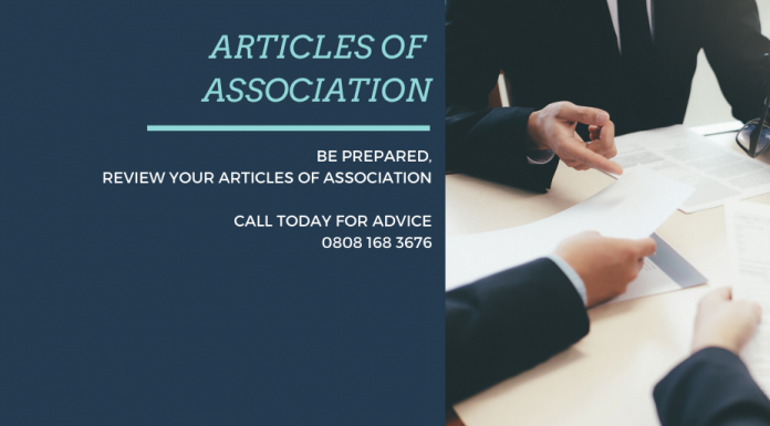 The Importance of Having Up to Date Articles of Association